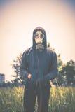 förorening för fabrik för luftbakgrund blå Arkivbilder