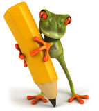 Frosch stock abbildung