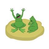 Frosch 5 Lizenzfreies Stockbild