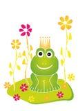 Frosch-König lizenzfreies stockfoto