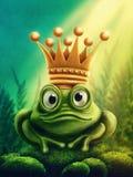 Frosch-Prinz Stockfoto