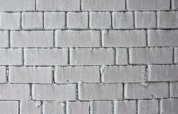 frosen стена Стоковая Фотография RF