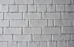 Frosen wall Royalty Free Stock Photography