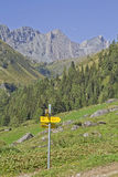 Frosnitz valley in East Tyrol Stock Image