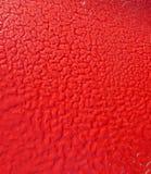 Frost на красном цвете Стоковое фото RF