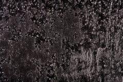 Frost на черной абстракции предпосылки Стоковая Фотография