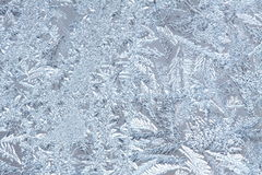 Frost. Photo of frost on glass Royalty Free Stock Photos