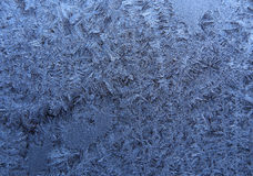 Frost Stockbild