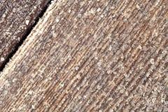 Frost auf einer alten Holzoberfl?che Wintermorgentau und -c$einfrieren lizenzfreie stockfotografie
