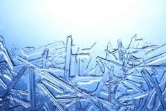 Frost auf Glas Lizenzfreie Stockfotos