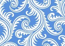 Frost auf nahtlosem Muster des Fensters Lizenzfreie Stockfotografie