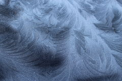 Frost on Black Royalty Free Stock Images