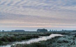 Frost des frühen Morgens Lizenzfreies Stockbild