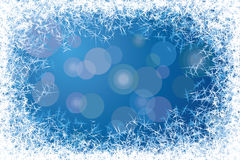 Frost frame Stock Image