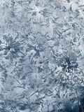 Frost. Freezing Frost pattern texture white snow royalty free stock photo