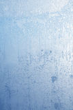 Frost on glass Royalty Free Stock Image