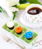 frost mini cukru bułeczki Zdjęcia Royalty Free