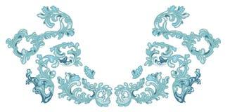 Frost modela a cor do gelo ilustração royalty free