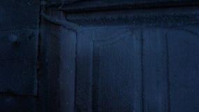 Frost na porta Fotografia de Stock
