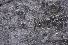 Frost och konst Arkivfoton