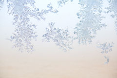 Frost pattern Royalty Free Stock Photos