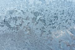 Frost pattern. As Christmas background Royalty Free Stock Photography