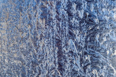 Frost Pattern Background Royalty Free Stock Photography