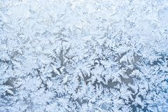 Frost pattern Stock Photo