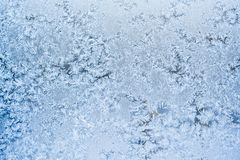 Frost pattern Stock Image