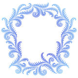 Frost Pattern frame Stock Photo