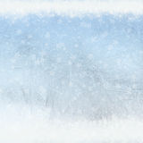 Frost patterns on window Stock Images