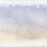 Frost patterns on window Stock Photography