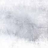 Frost patterns on window Royalty Free Stock Image