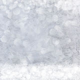 Frost patterns on window Royalty Free Stock Photos