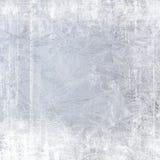 Frost patterns on window Stock Photo
