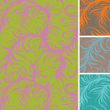Frost seamless pattern Royalty Free Stock Images