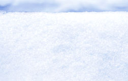 Frost and snow background in blue tones Royalty Free Stock Photo