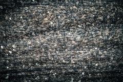 Frost sur une vieille surface en bois Rosée et congélation de matin d'hiver toned images libres de droits