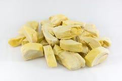 Frost trockener Durian Stockfotografie