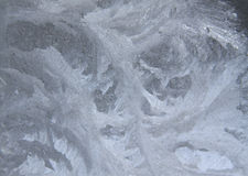 Frost on a window Royalty Free Stock Images