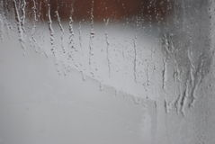 Frost on the window Stock Image