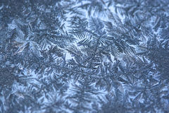 Frost on window Royalty Free Stock Photography