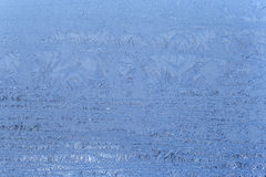 Frost on window. Close up of frost on window Royalty Free Stock Photo