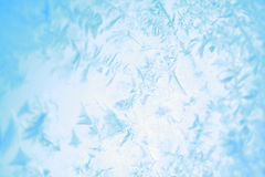 Frost on windowpane Stock Photography