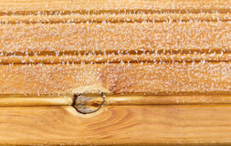 Frost on a wooden board, bacground. Rime and frost on a wooden board, bacground Stock Images