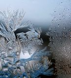Frost - work Stock Photography