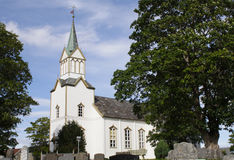 Frosta Church, Norway Stock Photo