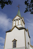 Frosta-Kirche, Norwegen lizenzfreie stockfotografie