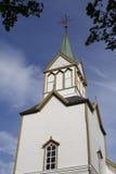 Frosta kościół, Norwegia Fotografia Royalty Free