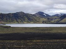 Frostastadavatn, south of Iceland Stock Photos